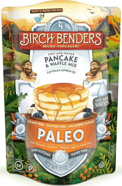$0.50 for Birch Benders® Pancake and Waffle Mix (expiring on Thursday, 09/26/2019). Offer available at Safeway, Albertsons.