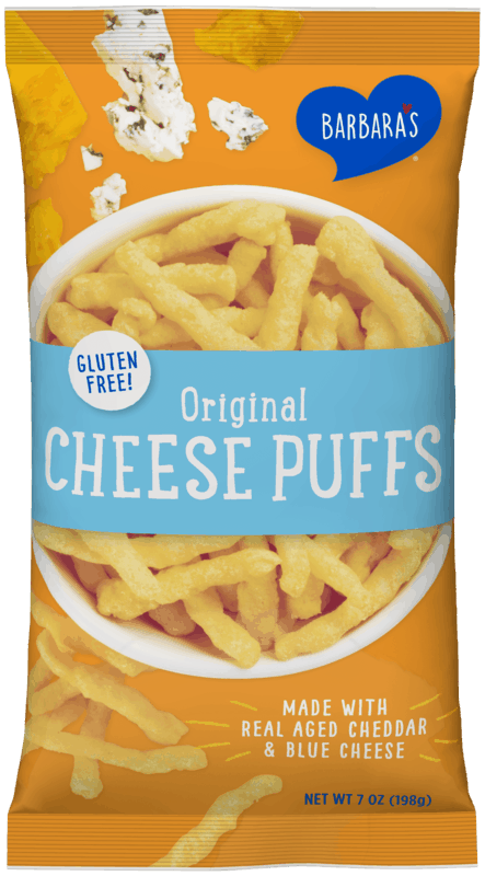 $0.50 for Barbara's Cheese Puffs (expiring on Saturday, 10/31/2020). Offer available at multiple stores.