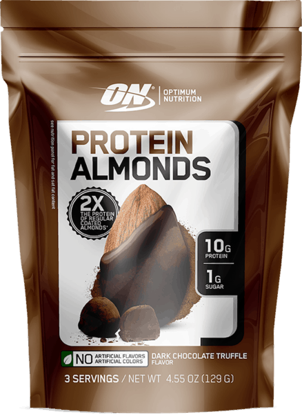 $0.75 for Optimum Nutrition® Protein Almonds (expiring on Monday, 12/31/2018). Offer available at Walmart.
