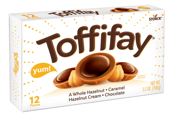 $0.50 for Toffifay® (expiring on Wednesday, 01/02/2019). Offer available at multiple stores.