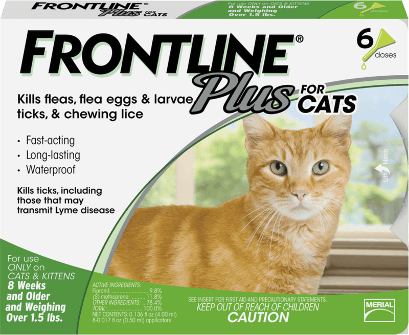 $10.00 for FRONTLINE® Plus Cats Flea and Tick Treatment. Offer available at PetSmart.