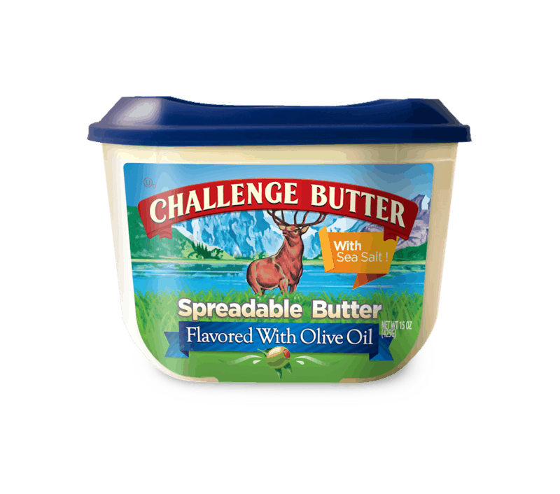 $0.75 for Challenge Spreadable Butter (expiring on Sunday, 02/28/2021). Offer available at Walmart, Walmart Grocery.