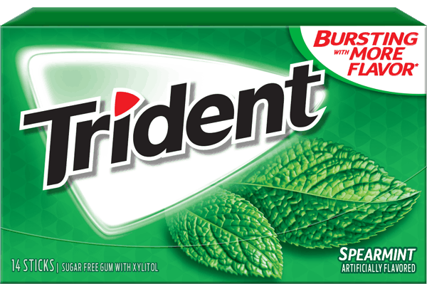 $1.00 for TRIDENT Gum. Offer available at Walmart.