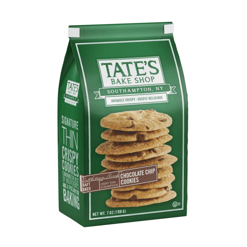 $0.25 for Tate's Bake Shop Cookies (expiring on Wednesday, 08/05/2020). Offer available at Walmart.