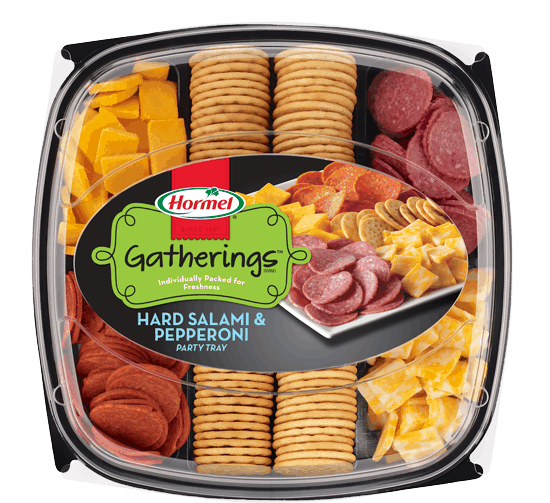 $2.00 for HORMEL GATHERINGS® Party Tray. Offer available at Walmart.