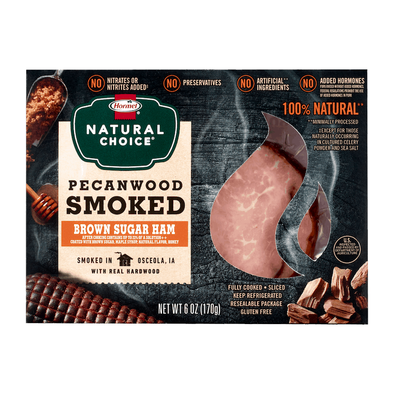 $1.25 for HORMEL® NATURAL CHOICE® Hardwood Smoked Lunchmeat (expiring on Monday, 05/31/2021). Offer available at Target, Walmart, Meijer, Walmart Pickup & Delivery, Target Online.