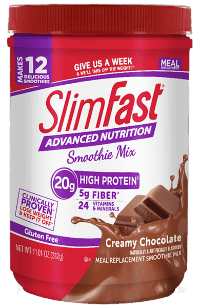 $1.00 for SlimFast® Advanced Nutrition and Advanced Energy Smoothie Mix (expiring on Thursday, 03/01/2018). Offer available at multiple stores.