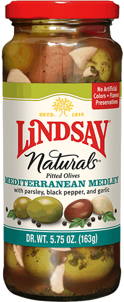 $1.00 for Lindsay® Naturals Specialty Olives. Offer available at multiple stores.