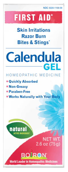$1.00 for Boiron®Calendula Gel (expiring on Wednesday, 08/01/2018). Offer available at Sprouts Farmers Market, Vitamin Shoppe.