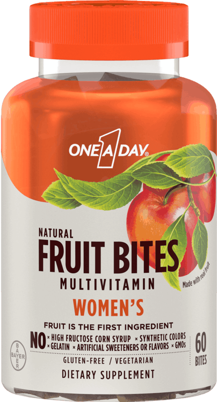 $3.00 for One A Day & Flintstones Fruit Bites Multivitamins. Offer available at Walmart, Walmart Pickup & Delivery.