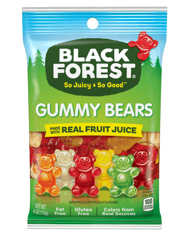 $0.50 for Black Forest® Gummy Bears (expiring on Saturday, 11/02/2019). Offer available at multiple stores.