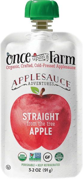 $0.50 for Once Upon A Farm Applesauce Adventures (expiring on Friday, 11/02/2018). Offer available at multiple stores.