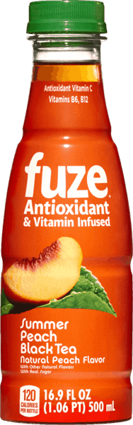 $0.50 for FUZE® Antioxidant & Vitamin Infused Tea (expiring on Sunday, 09/02/2018). Offer available at H-E-B.
