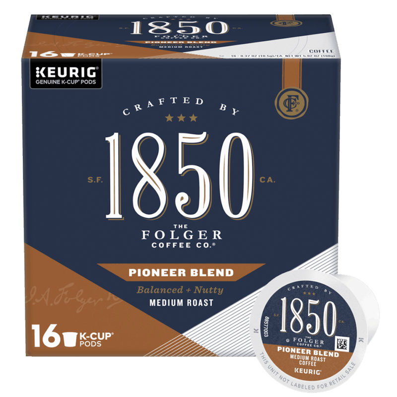 $2.00 for 1850® K-Cup® pods. Offer available at Target.