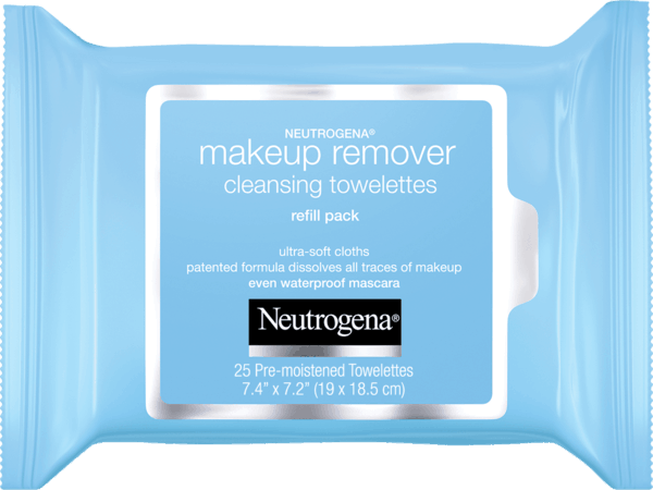 $1.00 for Neutrogena® Makeup Remover Towelettes. Offer available at multiple stores.