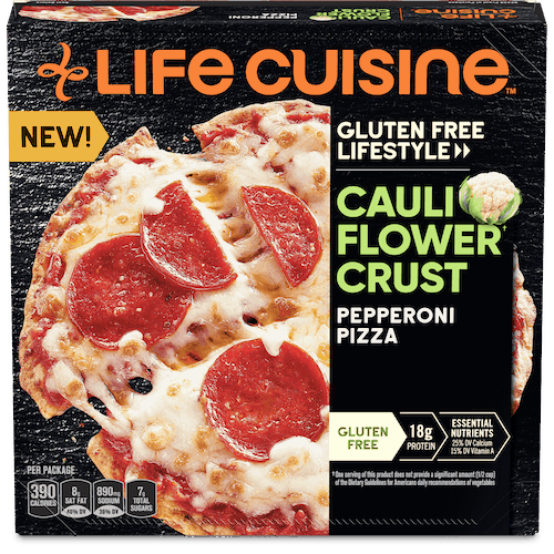 $0.50 for Life Cuisine Cauliflower Pizza (expiring on Friday, 01/22/2021). Offer available at multiple stores.