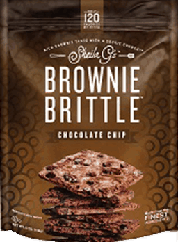 $0.75 for Brownie Brittle™ Chocolate Chip (expiring on Tuesday, 10/02/2018). Offer available at multiple stores.