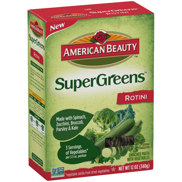 $1.00 for American Beauty® Health and Wellness Pasta. Offer available at Walmart.