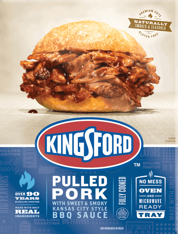 $1.00 for Kingsford BBQ Entrees (expiring on Thursday, 06/11/2020). Offer available at multiple stores.