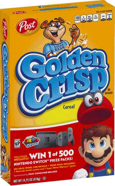 $0.30 for Golden Crisp® (expiring on Saturday, 06/02/2018). Offer available at multiple stores.