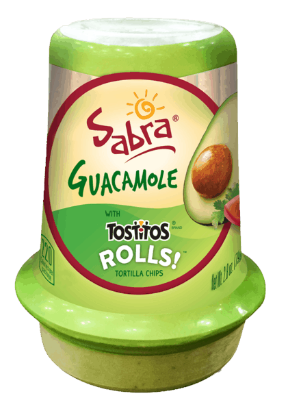 $1.00 for Sabra® Guacamole Grab & Go. Offer available at Walmart.