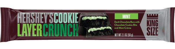 $1.00 for Hershey's® Cookie Layer Crunch King Size Bar. Offer available at Walmart.