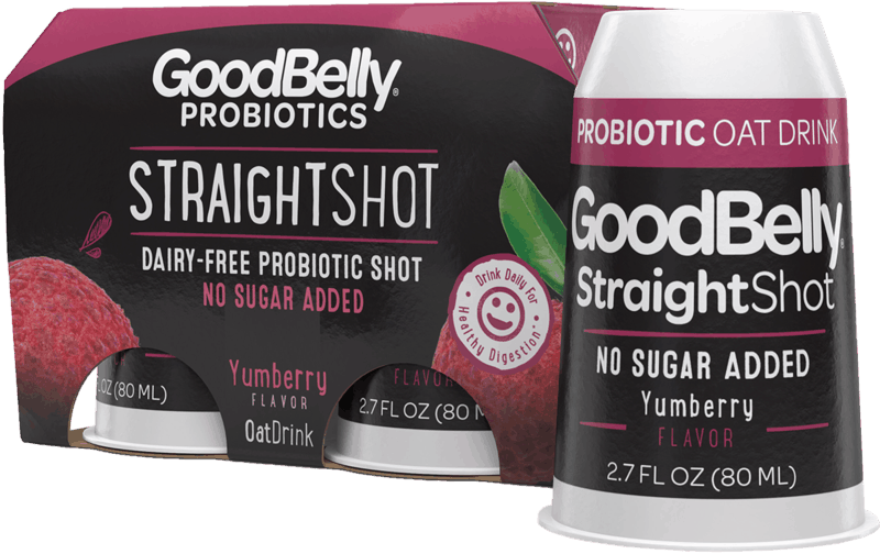 $0.50 for GoodBelly® Probiotics StraightShot (expiring on Wednesday, 10/02/2019). Offer available at multiple stores.