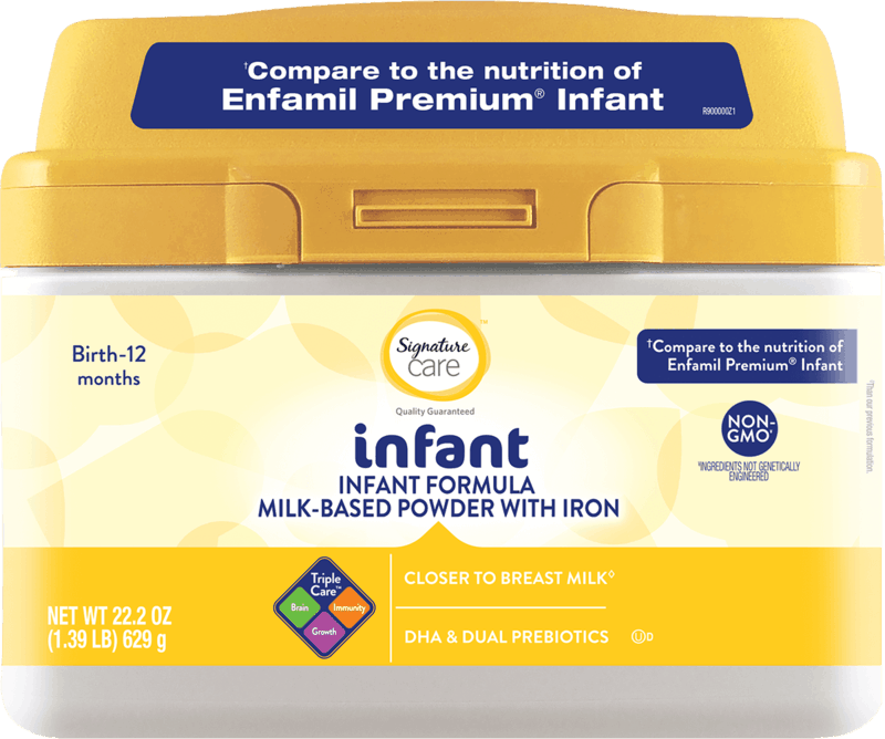 $4.00 for Signature Care™ Infant Formula (expiring on Tuesday, 12/03/2019). Offer available at Safeway, Albertsons.