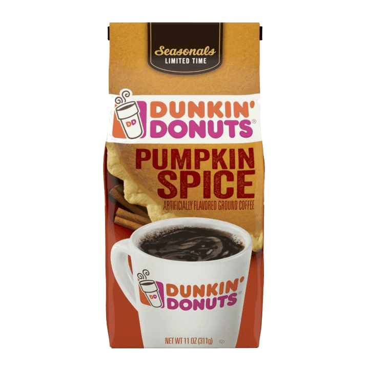 $0.25 for Dunkin'® Ground Coffee (expiring on Monday, 11/18/2019). Offer available at Target, Walmart.