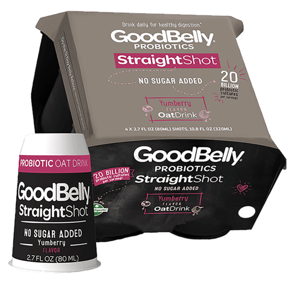 $0.75 for GoodBelly® Probiotics StraightShot (expiring on Tuesday, 01/30/2018). Offer available at multiple stores.