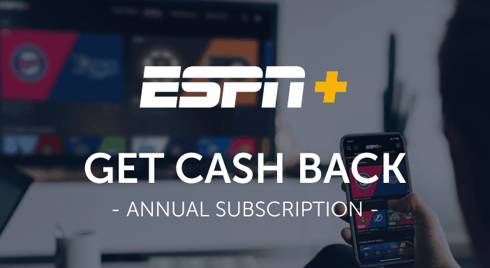 $0.00 for ESPN+ (expiring on Wednesday, 08/31/2022). Offer available at ESPN+.