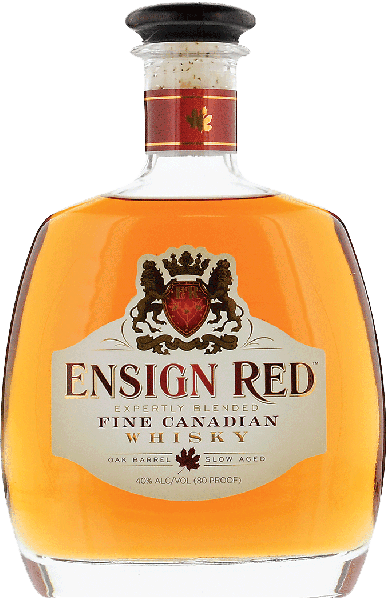 $2.00 for Ensign Red Canadian Whisky. Offer available at Total Wine & More.