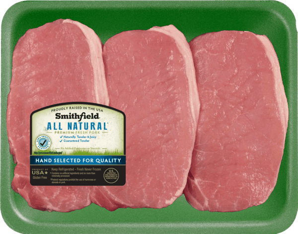 $1.00 for Smithfield® All Natural Fresh Pork (expiring on Monday, 04/30/2018). Offer available at Walmart.