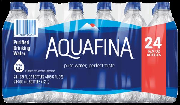 $1.25 for Aquafina® (expiring on Thursday, 02/01/2018). Offer available at multiple stores.