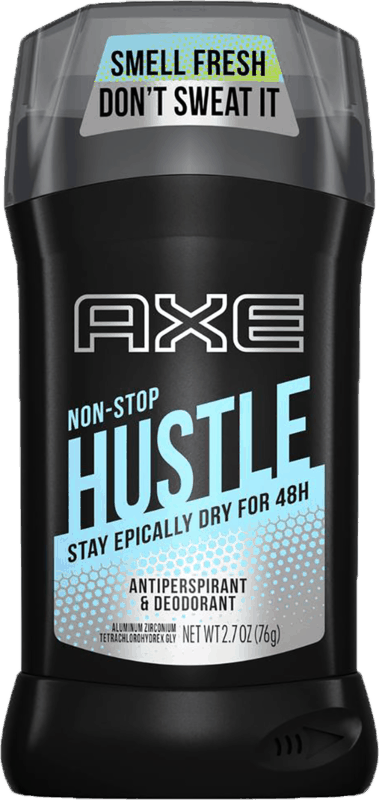 $0.75 for AXE Antiperspirant or Deodorant Stick (expiring on Friday, 02/21/2020). Offer available at multiple stores.