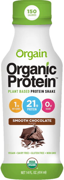 $1.00 for Orgain® 21g Plant-Based Protein Shake (expiring on Sunday, 04/01/2018). Offer available at Whole Foods Market®, Sprouts Farmers Market.