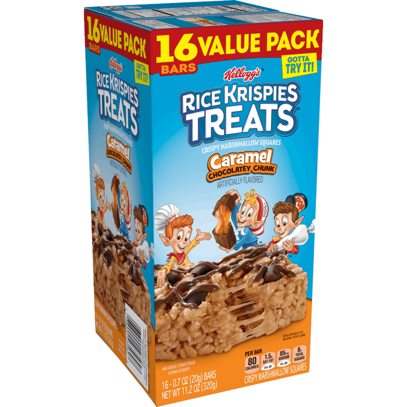 $0.75 for Kellogg's Rice Krispies Treats (expiring on Sunday, 11/01/2020). Offer available at Walmart, Walmart Grocery.