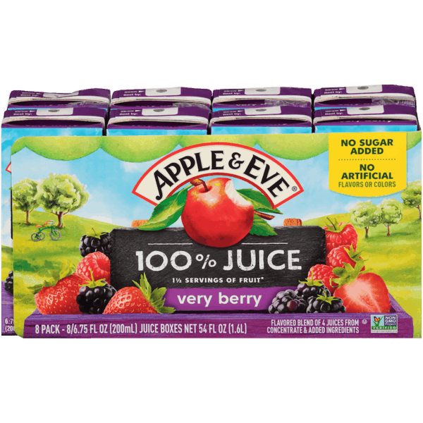 $1.00 for Apple & Eve® Multipack Juice Boxes and Bottle Juice (expiring on Saturday, 06/30/2018). Offer available at multiple stores.