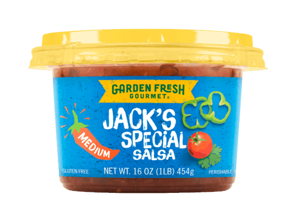 $1.00 for Garden Fresh Gourmet® Salsa (expiring on Tuesday, 07/31/2018). Offer available at Walmart.