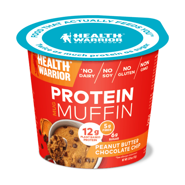 $0.50 for Health Warrior® Protein Mug Muffins (expiring on Friday, 08/02/2019). Offer available at Wegmans.