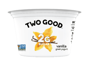 $0.20 for Two Good Greek lowfat yogurt (expiring on Saturday, 02/01/2020). Offer available at multiple stores.