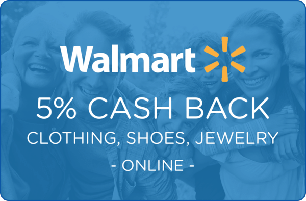 $0.00 for Walmart.com Clothing, Shoes, and Jewelry (expiring on Wednesday, 04/01/2020). Offer available at Walmart.com.