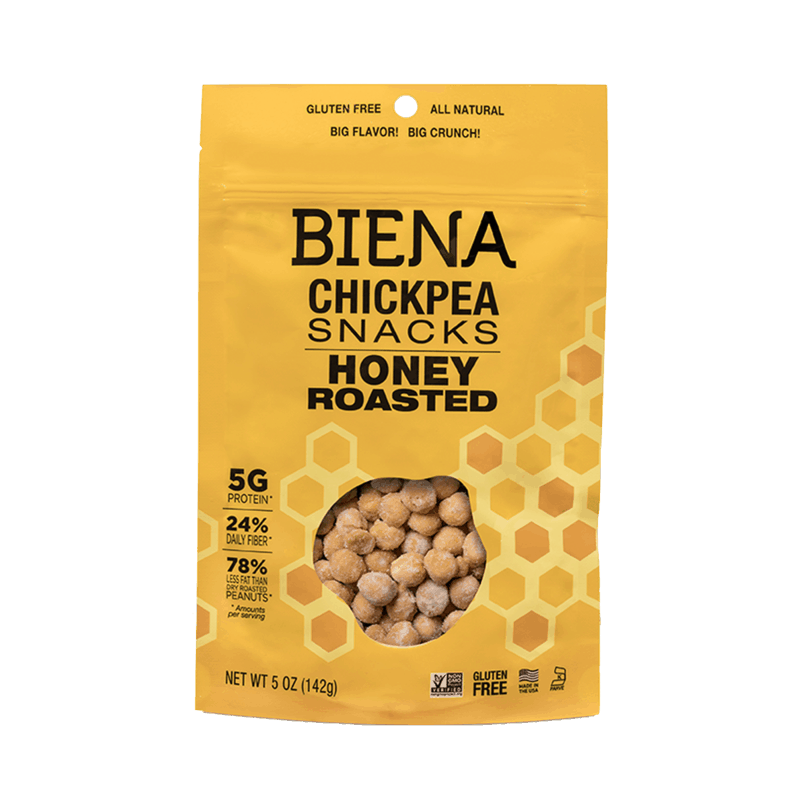 $1.00 for Biena® Chickpea Snacks (expiring on Saturday, 12/28/2019). Offer available at Target, CVS Pharmacy.