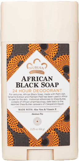 $2.00 for Nubian Heritage Deodorant. Offer available at Walmart, Wegmans, Whole Foods Market®, Sprouts Farmers Market, ULTA.