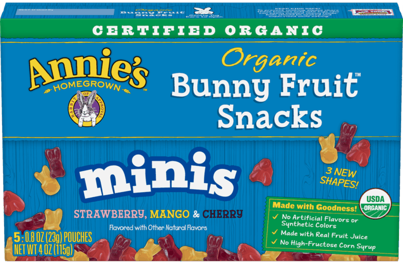 $0.50 for Annie's™ Snacks. Offer available at Target.