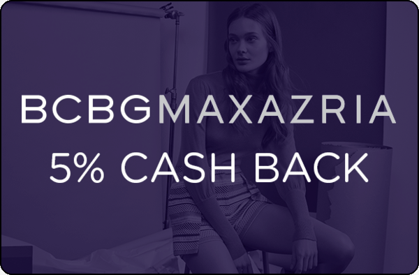 $0.00 for BCBG (expiring on Friday, 06/07/2019). Offer available at BCBG.