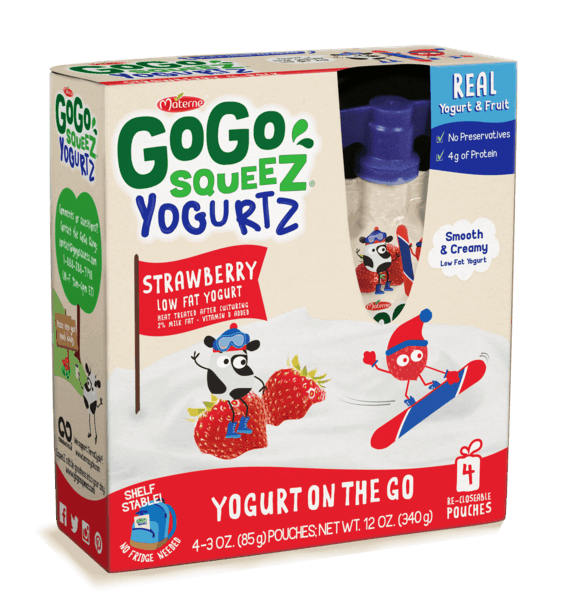 $0.75 for GoGo squeeZ® YogurtZ (expiring on Wednesday, 11/07/2018). Offer available at multiple stores.