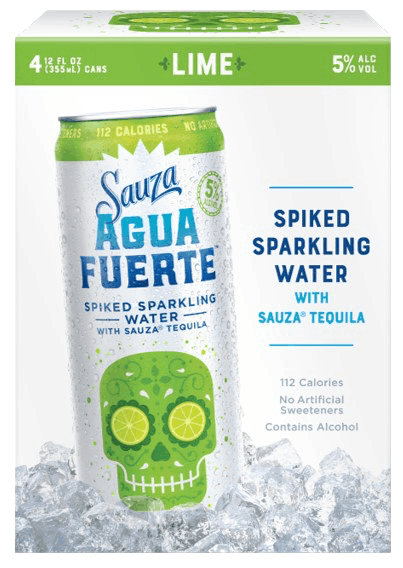 $2.00 for Sauza Agua Fuerte™ Spiked Sparkling Water (expiring on Thursday, 09/06/2018). Offer available at multiple stores.