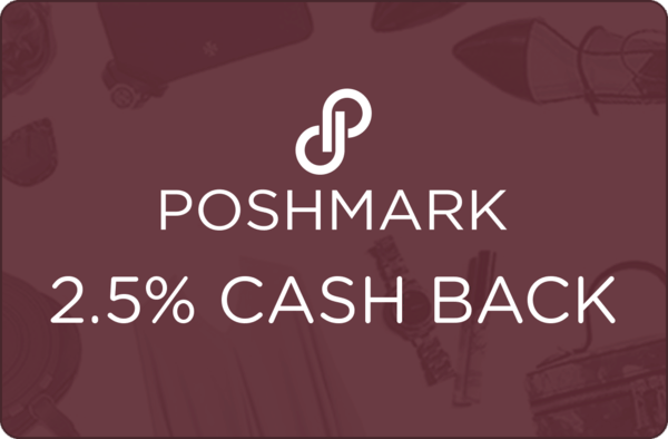 $0.00 for Poshmark (expiring on Tuesday, 08/14/2018). Offer available at Poshmark.