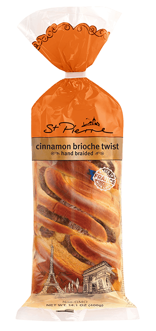 $0.50 for St. Pierre Brioche Cinnamon Twists (expiring on Monday, 05/31/2021). Offer available at City Market, Dillons.